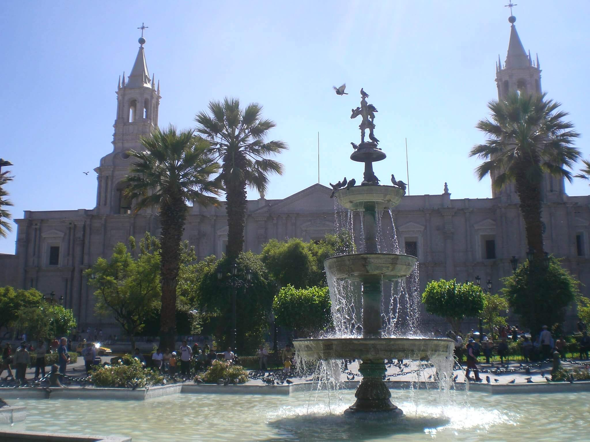 Arequipa. Fonte: Cyril Bèle.