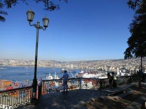 Valparaíso, Chile. Fonte: Kyle Pearce.